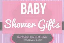Baby Shower Gifts / Looking for some gifts that would be great for a baby shower you're attending? Looking for a gift that will make the mother smile? Take a look at look at the variety of gifts for baby girls and boys and make a wonderful impression at your next baby shower.