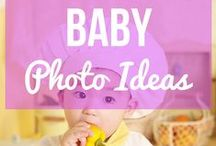 Baby Photo Ideas / They grow up so fast, and the time will just fly by. Take wonderful photos of your babies and be inspired by these wonderful baby photo ideas.