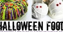Halloween food / Healthy alternatives and naughty nibbles