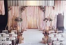 Backdrop Love / Handmade Backdrop ideas, we will make them to suit your colour scheme, lights lights and more lights!