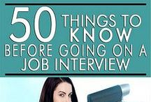 Interview:  Before / Tips and Tricks to know before the Interview / by CareerCenter CypressCollege