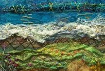 Textiles creations / Les fils qui tressent la trame d'un rêve qui embellit la vie