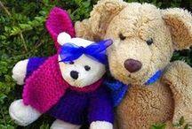 Ours et doudoux / Ours, doudous, peluches et autres douceurs de l'enfance qui restent ancrés en nous