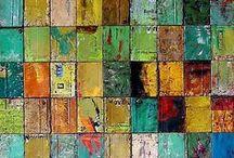 Palettes de couleurs et nuances / Des couleurs, des textures, des matières... pour créer