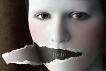 Ecoute. .. / Ecouter, même ce qui est inaudible. Parce que dans le silence bruissent bien des émotions qu'il faut savoir entendre. Ecouter pour dire ensuite...