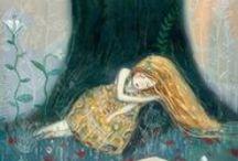 Et merveilles des enfances / Images rencontrées en suivant Alice, Blanche-neige et autres belles sur le chemin des contes... L'émerveille absolue de l'enfance !