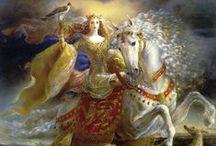 Chevauchée en faery / Les moyens de transport qui demandent une complicité avec un autre.... en émerveille