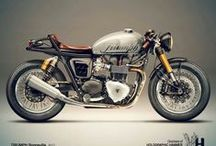 Motorcycles, Retro / Motorcycles, classics, retro, café racers