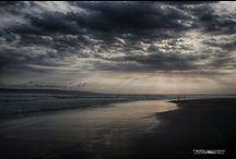 Pantai Pancer - Puger / Tempat menikmati sunset di Jember - Jawa Timur