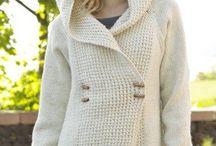 Pletené a hačkované  svetre , tuniky .... / Inšpirácie
