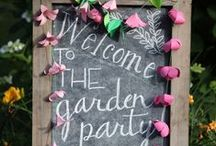 Liberti: Green Garden Party / Next sunny Saturday, don't spend hours queuing in you local DIY mega-store. Give the weeds and your purse a rest. Call your friends, kick back, and have a great day loving your garden just as it is.