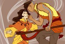 Avatar / Aang and Korra, duh