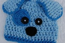 Čiapky - zvieratká - hačkované aj pletené / Inšpirácie