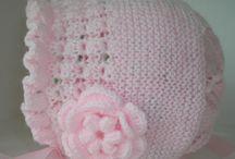 Baby čiapočky - Kojenecké - / Inšpirácie a Video pletených a hačkovanych kojeneckych ciapok