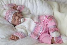 Baby sety - súpravičky / Inšpirácie  - Pletené a hačkované súpravičky / svetrík, čiapočka, papučky ../