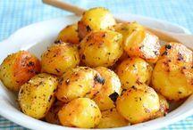 Recepty - zemiaky / Rôzne recepty zo zemiakov ako priloha
