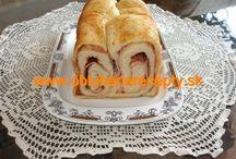 Recepty domáca pekáreň / Rôzne druhy receptov