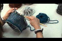 Čiapky a šale tuniským spǒsobom / Tieto čiapky sú hačkované tuniským spôsobom