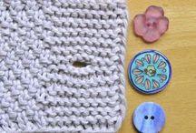 Gombíkové dierky na pletenine / Videá rôznych spôsobov pletenia gombikových dierok