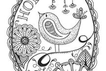 Coloring to Relax / Coloring is a meditation tool to help us relax. Learning to relax is important for our recovery and managing our addiction/alcoholism on a daily basis. Enjoy the  beautiful coloring pages in this Board selected especially for you to color.