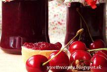 Džem, lekvár a marmeláda