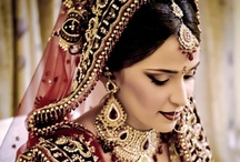 "Indian Bride / ""If there is one place on the face of earth where all the dreams of living men have found a home from the very earliest days when man began the dream of existence, it is India."" ~ Romain Roland"