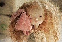 "Dolls / ""It's never too late to have a happy childhood."" ~ Tom Robbins"