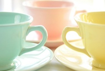 "Cups & Teapots / ""Accept what life offers you and try to drink from every cup."" ~ Paulo Coelho"