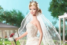"Barbie Bride / ""Moonlight, white satin, roses. A bride."" ~ Angela Carter"