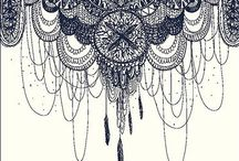 Zentangle and other drawing patterns