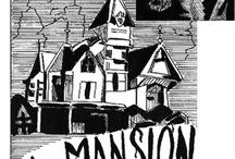 La Mansión / Comic de suspenso y terror. Guión y Dibujos: Héctor Francovig