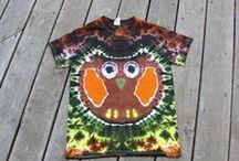 Adult Tie Dyes / Tie-dye tees & tanks for home or festival life wanderings.  www.moondyes.com