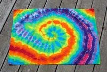 Tie Dye Pillowcases / Tie Dye Pillowcases to help you get a colorful nights sleep! www.moondyes.com