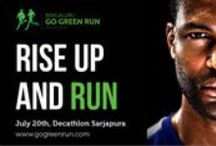 Go Green Run Bangalore / Our attempt to provide a GREEN hope to the Mankind. Run for a Cause. Run for Greener Bangalore on July 20, 2013. Register now and we will plant a TREE on your behalf. http://www.gogreenrun.com/registration.html