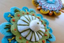 Felt embroidery and crafts / by Marlene Russell