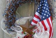Red, White, and Blue Holidays / by Lauren Knepp