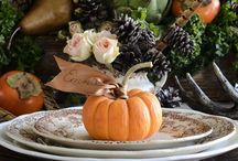 Thanksgiving/Fall Decor / Thanksgiving Inspirations