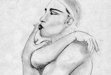 Dibujos y bocetos / Algunos de mis dibujos y bocetos