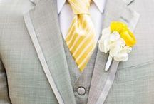 Yellow Grey Weddings / Yellow & Grey Theme Weddings Inspirations