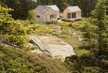 Simple Nordic architecture / Ideas for house blueprints with a simple nordic design.