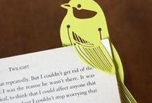 Bookmarks Ideas / Learn how to make a cool and fun bookmark for everyday use.