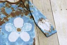 Tie Dye Baby Clothes / Keeping your wee ones colorful! www.moondyes.com