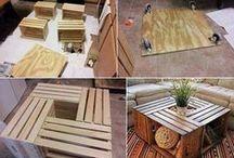 Projets à essayer / déco nature, bois, papiers, recyclage, DIY
