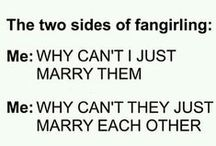 Fandoms / All the Fandoms I'm in have joined together into one.