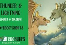 Frogburps Videos / Videos with sketches and illustrations from our books.