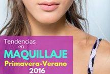 .:PERSONAL: Maquillaje Primavera 2016:. / Conoce las tendencias en maquillaje para esta temporada que va a iniciar. Luce increíble con los looks que te proponemos en este tablero.