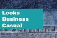 .:LABORAL: Etiqueta Business Casual:. / Proyecta una imagen vanguardista y profesional con las propuesta de looks ejecutivos casuales que tenemos para ti.