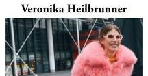 Best of Steet Style by Veronika Heilbrunner / Seeking some inspiration today? Find here the best Street Style Outfits by Veronika Heilbrunner
