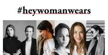 hey woman! Wears / We are part of the hey woman! core team and love to share our office outfits to inspire your daily fashion dose. Enjoy!