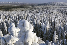 Rovaniemi en Finlandia / Rovaniemi es la capital de Laponia en Finlandia. Es también la oficial ciudad de Papá Noel.